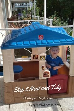 [Ad] Finally, a playhouse with a real, working door bell! This romantic cottage is a staple of our outdoor equipment, and it even fits on a balcony, if you don't have a big yard. It features a table with a sink inside and a grill outside and a little chair, as well as a flower box you can put real plants in. It also has a mailbox and a window and door to open and close. We've had it for two years now, and the stickers are as good as new. The best thing, of course, is the door bell! Toddler Chair, Toddler Toys, Little Tikes House, Indoor Playhouse, Fabric Letters, Romantic Cottage, Cozy Fireplace, Real Plants, Porch Lighting