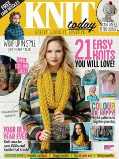 Knit Today Issue 121 2016 - 轻描淡写的日志 - 网易博客