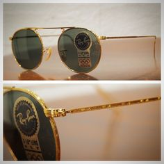 e79f7e8d1c 90 s Bausch Lomb Rayban vintage round metal.  神戸  北野  デッドストック