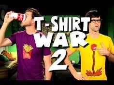 Creative Tshirt War by Rhett and Link