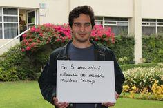 David González, estudiante de Ingeniería Industrial y de Sistemas.