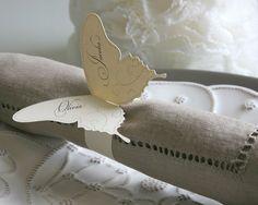 Butterfly Napkin Rings : Timeless Paper