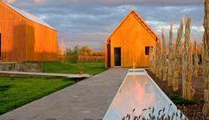 Hotel El Aguamiel: Mendoza, Argentina - Architects Gustavo Espitia and Leticia Barchilon built the eight-room hotel.
