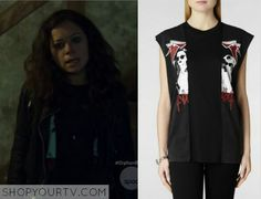 Allsaints Evaders tee in ebony