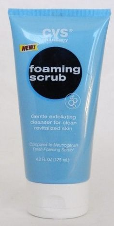 Gentle Exfoliating Foaming Scrub 4.2oz. (Compare to NUETROGENA FRESH FOAMING SCRUB) by CVS. $3.99. Stimulating cool lather microbeads. CVS Pharmacy Stimulating Foaming Scrub gives you clean revitalized skin in one easy step. Liven up your skin senses. CVS Pharmacy Stimulating Foaming Scrub gives your skin a deep clean and leaves you feeling refreshed and exhilarated. The stimulating microbeads exfoliate skin gently while washing away dead skin cells. The light ...