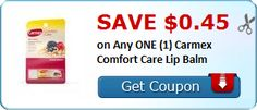 New Coupon!  Save $0.45 on Any ONE (1) Carmex Comfort Care Lip Balm - http://www.stacyssavings.com/new-coupon-save-0-45-on-any-one-1-carmex-comfort-care-lip-balm/