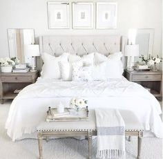 Get inspired by Cottage/Country Bedroom Design photo by Wayfair. Wayfair lets you find the designer products in the photo and get ideas from thousands of other Cottage/Country Bedroom Design photos. Country Bedroom Design, Master Bedroom Design, Home Decor Bedroom, Bedroom Furniture, Ikea White Furniture, Indian Furniture, Decor Room, Bedroom Wall, Office Furniture