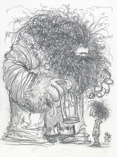 Harry Potter and Hagrid by Skottie Young Harry Potter Fan Art, Harry Potter Drawings, Harry Potter Fandom, Harry Potter World, Skottie Young, Princesas Disney Zombie, Desenhos Harry Potter, Young Art, Yer A Wizard Harry