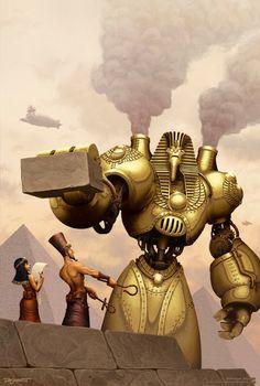 Egyptian Steampunk... Interesting