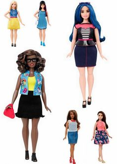 Mattel Debuts an Updated Barbie: Curvy, Petite, and Tall