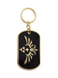 The Legend Of Zelda: Skyward Sword Triforce Key Chain