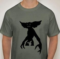 Gremlins Sihouette T-Shirt by DJsDecals on Etsy