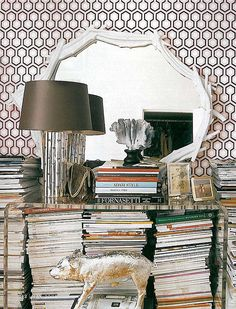 hick's hexagon #wallpaper cole and son