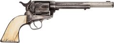 Jesse James' Colt .45 Revolver May Bring $400,000 The Most Thoroughly Documented Jesse James Gun Ever to Appear at Auction: Colt Single Action .45 Caliber Revolver, Identified.