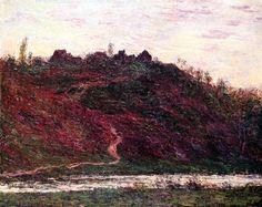 Claude Monet, The Village of La Coche-Blond, Evening, 1889 on ArtStack #claude-monet #art