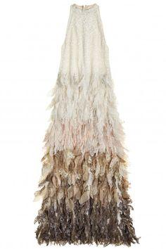 Aru Sequin Embellished Silk Petal Dress | Calypso St. Barth