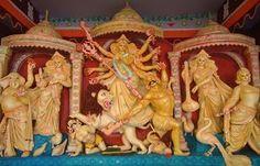 শ্যামনগরে ৬৩টি পুজা মন্ডপে যথাযথ মর্যাদায় শারদীয়া দুর্গোৎসব শুরু - বর্তমান কন্ঠ । bartamankantho.com