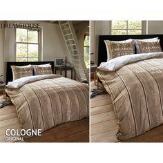 Rustikálny motív posteľné návliečky hnedej farby