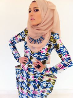 Very creative hijab styles!