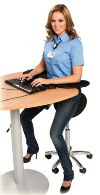 Satulatuoli on ergonominen työtuoli - Satulatuoli kauppa Desk, Stuff To Buy, Furniture, Badge, Home Decor, Projects, Accessories, Decorations, Homemade Home Decor