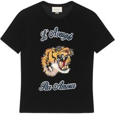 1e3017d1b Gucci Cotton t-shirt with embroideries - Gucci Embroideries - Ideas of Gucci  Embroideries #