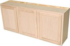 Quick Cheap Unfinished Kitchen Cabinets  sc 1 st  Pinterest & Unfinished Cabinets from Menards $32.99 | KITCHEN | Pinterest ...