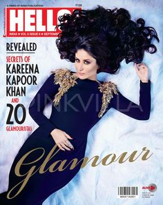 Kareena Kapoor Khan has featured on the cover of Hello! magazine for their September issue.