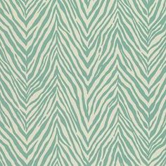 "zebra skin outdoor in Aquamarine 54"" wide $14.99 yd 100% polyester durable water repellent for draperies?? @ Calico Corners Item # 000287835"