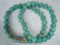 :-) Turquoise Bead Bracelets for sale :-) HappyFace313 :-)