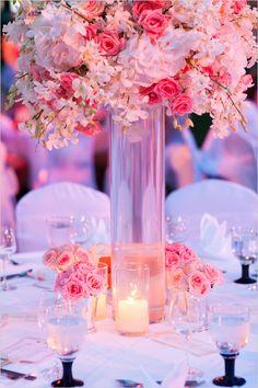Coralflowers coral navy blue wedding flowers weddings and decor glamorous thailand wedding mightylinksfo