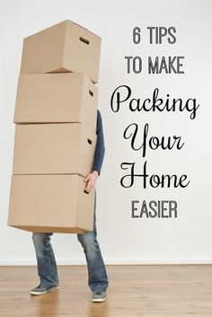 6 Moving Tips to Make Packing Easier - Moments With Mandi
