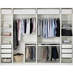 begehbarer kleiderschrank ikea - Google-Suche