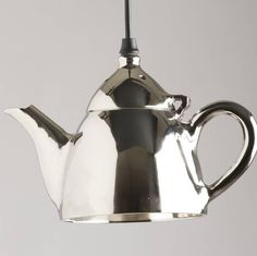 Are you interested in our Teapot hanging light? With our fun teapot light lamp you need look no further. Dinosaur Light, Pendant Lighting, Children's Lighting, Light Pendant, Old Wall, Unusual Gifts, Hanging Lights, Shades Of Green, Lamp Light