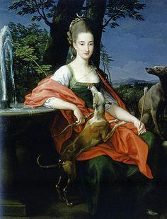 Pompeo Batoni, Portrait of a Lady, 1776. Genoa, Private Collection