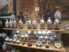Antichi vasi e teiere