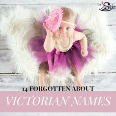 Ever consider names like Lettie or Minnie? There are so popular names from the Victorian era that aren't really used any more...but we think it's time for a comeback.