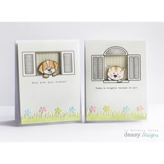 The windows are from Deasy Designs digital stamps... the Frame It collection