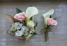 boutineers of victorian looking flowers - Google Search