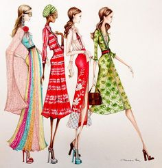 Best Australian Fashion Illustrators - Image 4 : Harper's BAZAAR