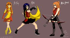 YOUNG JUSTICE GENDERBEND! by lxoivaeh