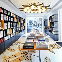 It's only fitting that art and design publisher extraordinaire TASCHEN has a retail store that matches the production values of their famously high quality tomes. And here they have one, on the aptly-named Via Meravigli (wonder or marvel) in Milan...