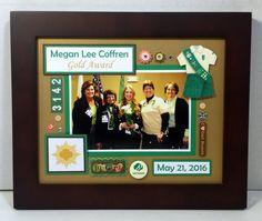 Girl Scout Photo Mat  Troop Leader Gift  by memoreasykeepsakes