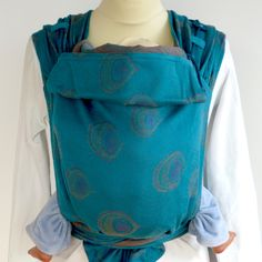 d9317d37bba1 DidyTai Peacock Eye Emerald on the way! Baby Sling, Natural Baby, Baby  Wearing