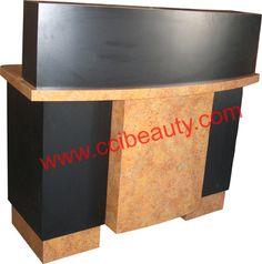 Reception Desk CC-8003-Deep-Mineral-Star #receptiondesk #frontdesk #salon #spa #dayspa #barbershop #barber