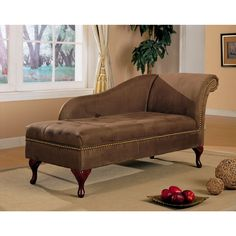 Master bedroom on pinterest master bedrooms small guest for Brown microfiber chaise lounger