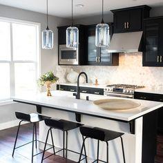3 Gorgeous Ways To Soften Black Kitchen Cabinets Kitchens Cabinet
