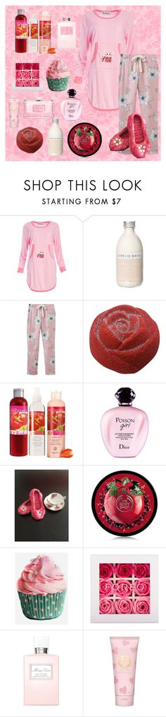 Knitted & Felted Wool Slippers, Knitted Pink Slippers, Knitted House Shoes,sz 6, Handknit Slippers,Knitted,Soled Slippers,Ladies/Teen,Warm by bamasbabes on Polyvore featuring Dolce Vita, Joules, Avon, FOREO, Christian Dior, Pearl & Queenie and Tory Burch