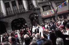 Buenos Aires celebra Siria 2014 - Ballet Ikram bailando con la gente