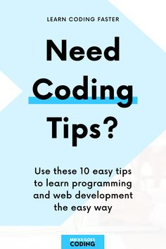 You want to learn to code, but it feels too difficult? No worries! Learning to code takes a lot of work, but it's easier if you follow these simple but powerful learning strategies to see progress faster. Set a clear goal, learn the right programming languages from scratch, and build small coding projects for your portfolio to land your dream tech job step-by-step. Happy learning! #mikkegoes Learn Programming, Programming Languages, Computer Programming, Learn Html, Learn To Code, Coding For Beginners, Good Tutorials, Web Development, Goal