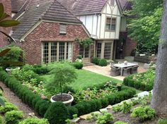 Tips for Designing a French Garden Hunker french garden house – House & Garden… Diy Garden, Garden Projects, Garden Landscaping, Home And Garden, Potager Garden, Landscape Structure, Landscape Design, Design Tropical, Design Patio